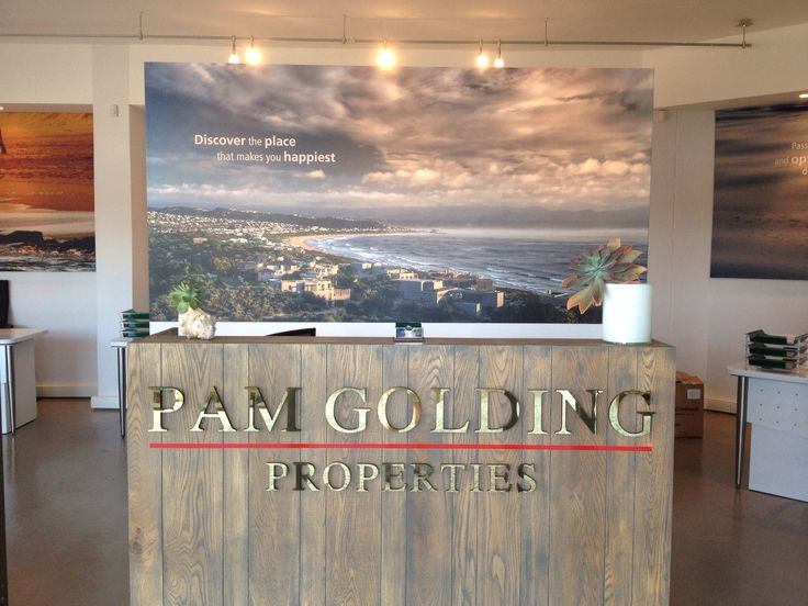 Office design for Pam Golding Properties Plett by www.petrusmareedesign.co.za