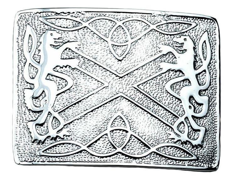 New ‪#‎Buckle‬ Chrome Clan Crest Saltire ‪#‎Rampant‬ ‪#‎Lions‬. Brand New Pewter ‪#‎Kilt‬ ‪#‎Belt‬ #Buckle, which takes the standard #Kilt #Belt 2 - 2.5 inches This ‪#‎Solid‬ #Belt #Buckle in Polished Chrome Finish come in many different designs This design is a Saltire with #Rampant #Lions on each side. Approx 3'' x 4''.Visit our online kilt shop we offer most authentic and latest. www.royalkilt.com