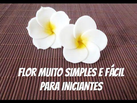 Flor MUITO MUITO SIMPLES e RÁPIDA p/ BOLOS - Perfeita p/ INICIANTES - YouTube