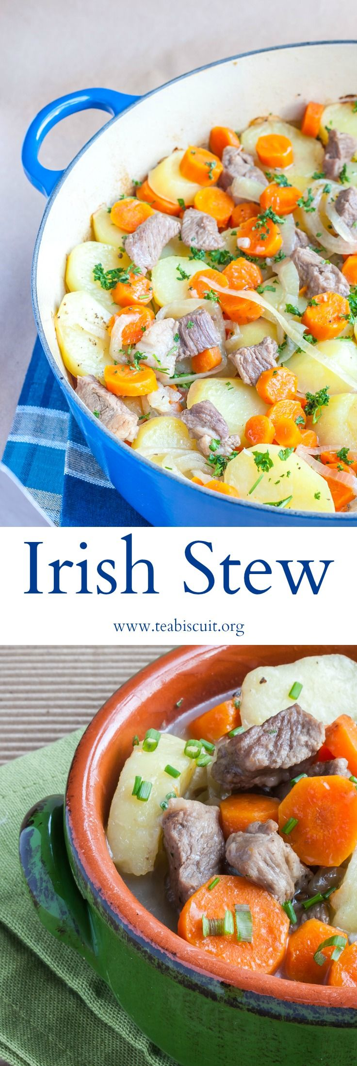 You don't need to wait until St Patrick's Day to enjoy this traditional Irish Stew recipe! | get all the details at noshtastic.com