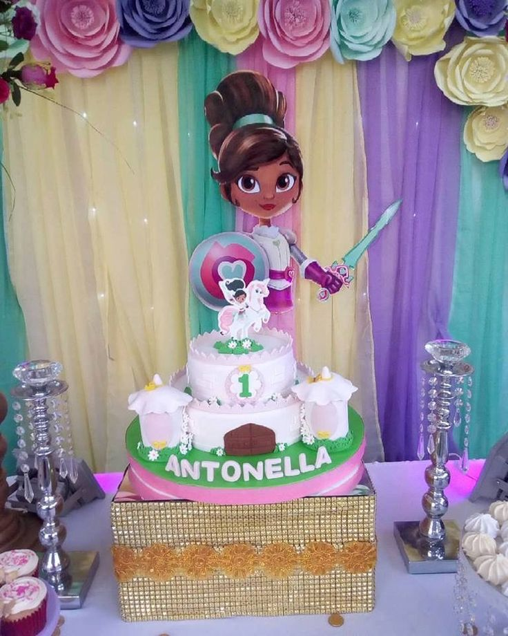 16 Best Nella The Princess Birthday Images On Pinterest