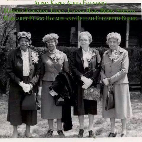 Four of Alpha Kappa Alpha Sorority Inc. Founders