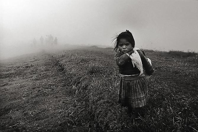 © Sebastiao Salgado - The Community of Yuracruz, Ecuador [girl], 1998.