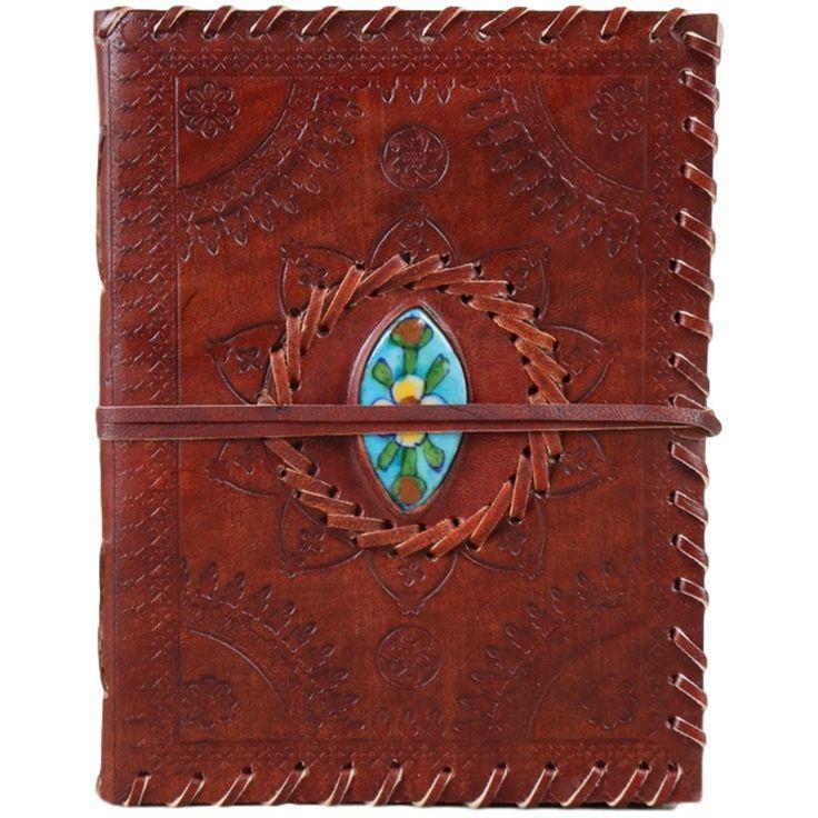 Jaipur Tile Leather Journal