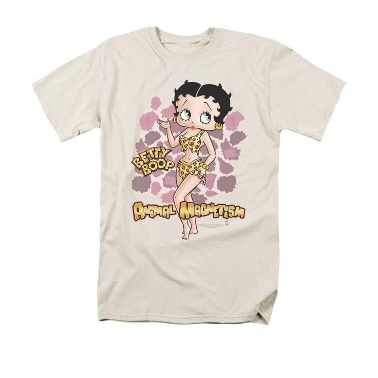 Betty Boop - Animal Magnetism Adult Regular Fit T-Shirt