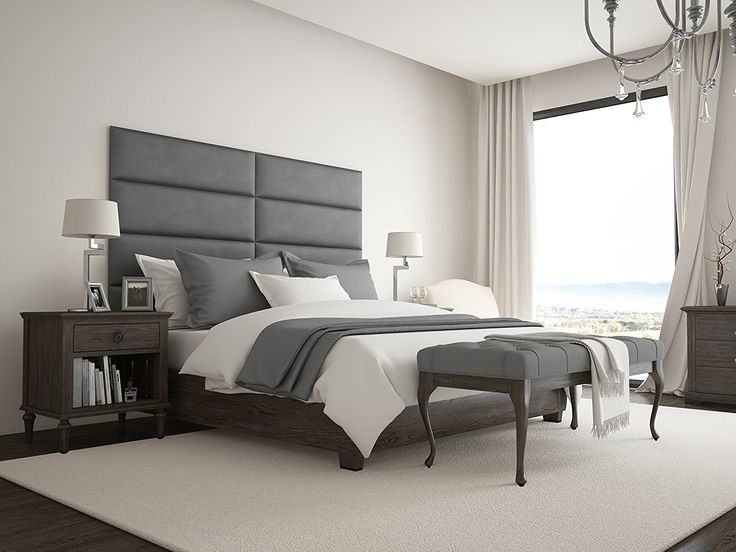 an overthetop headboard commands attention in a bedroom have fun and