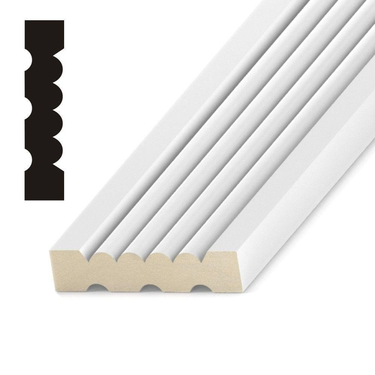 Fluted Trim Boards ~ Best images about baseboard and crown on pinterest