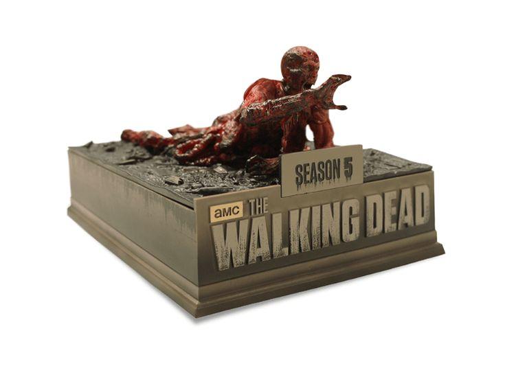 The Walking Dead - Staffel 5 - Media Markt Exklusiv Limited Asphalt Walker Edition (Uncut) - TV-Serien - [Blu-ray] - Media Markt