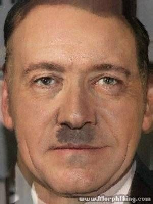 Adolf Hitler, Kevin Spacey (Morphed)