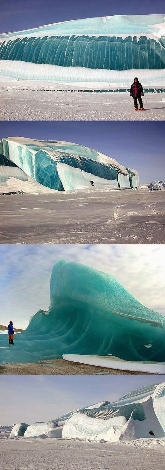 Frozen waves in Antarctica Frozen waves in Antarctica