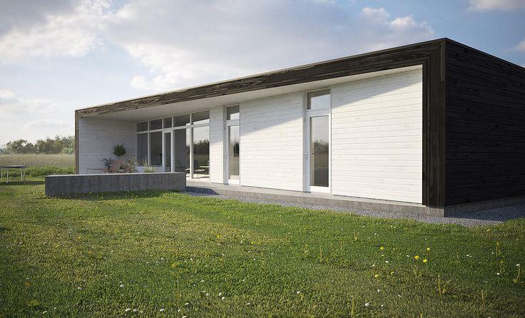 ZIPHOUSE - Kundanpassade moderna passivhus   Frame House