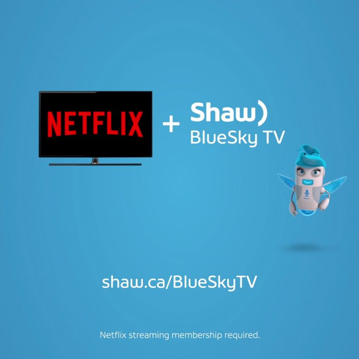 The real reason hoodies were invented. BlueSky TV, now with Netflix. Binge watching just got easier.