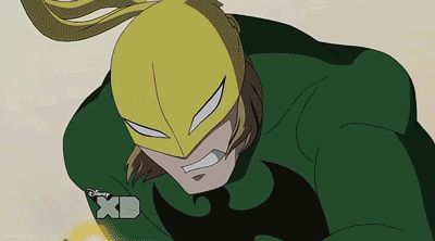 ultimate spiderman iron fist | ... Aug 12 84 iron fist danny rand daniel rand marvel ultimate spider-man
