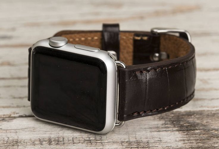 Leather Apple Watch band, 42mm, 38mm, Leather watch band, Apple watch strap, iwatch band, Apple watch leather band, dark brown iwatch strap by o2leather on Etsy