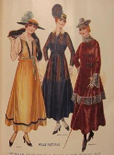 Edwardian Fashion Plate 1915