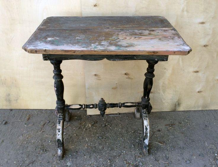 Старинный швейный столик  #antique #antik #sale #interior #decor #antiq #vintage #retro #kontorak #furniture #oldfurniture #wood #oldtime #antiquities