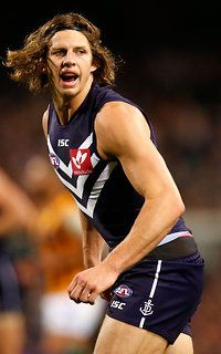 Nat Fyfe…..favorite to win the 2015 Brownlow medal.