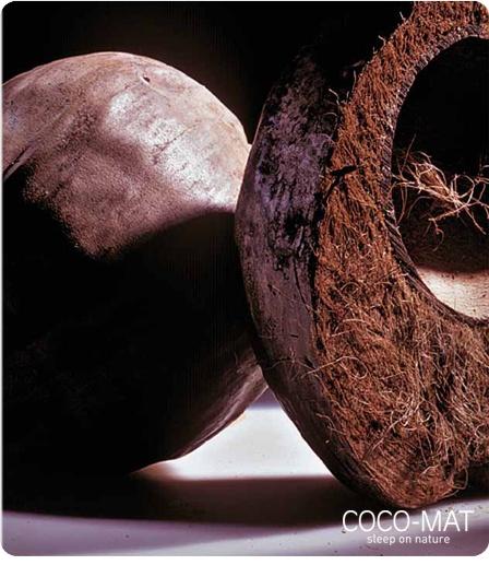 Nuestros sistemas de descanso están hechos con materiales naturales, entre ellos la fibra de coco.
