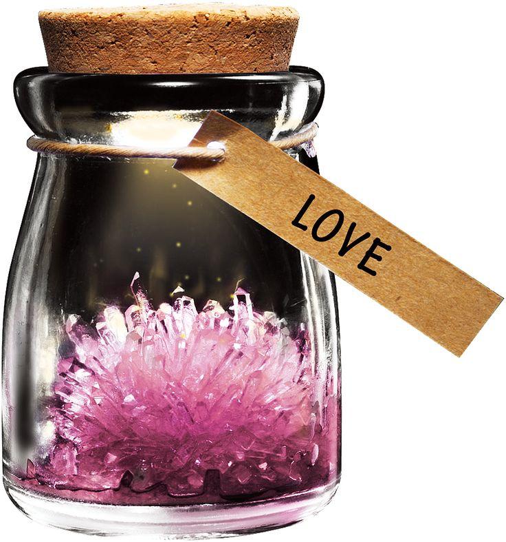 DIY Growing Crystal Wish Flower