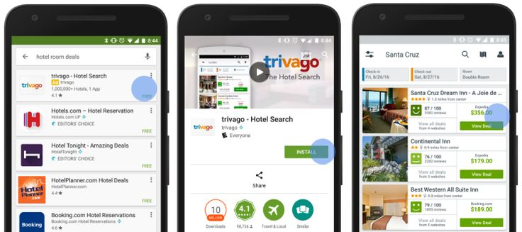 Googleがアプリの広告とYouTube上の広告に新機軸広告からのユーザーアクションを多様化
