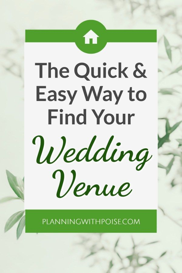 The Quick Easy Way To Find Your Wedding Venue Find A Wedding