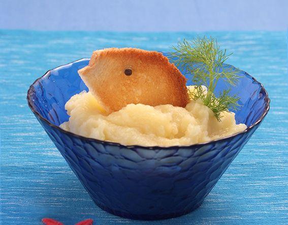 Mousse di platessa, finocchio e patata
