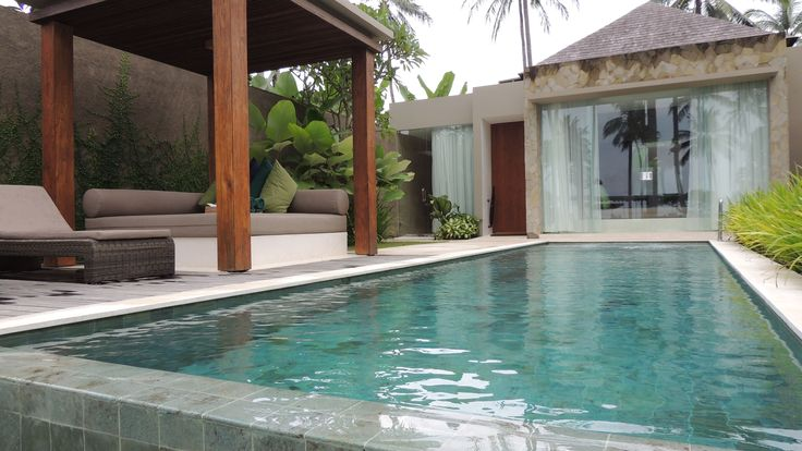 Privater Pool der Poolvilla des Candy Beach Resort & SPA. Wollen Sie hier baden? #Candi Beach Bali