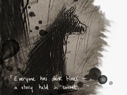 -- a story held in secret.