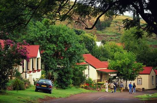 Old town in Mpumalanga, Pilgrims Rest.