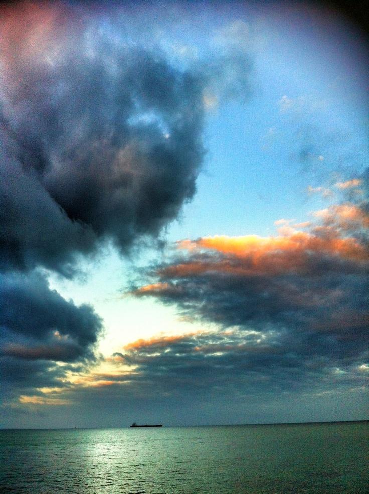 Dromana Beach sunrise , Mornington Peninsula, Victoria, Australia
