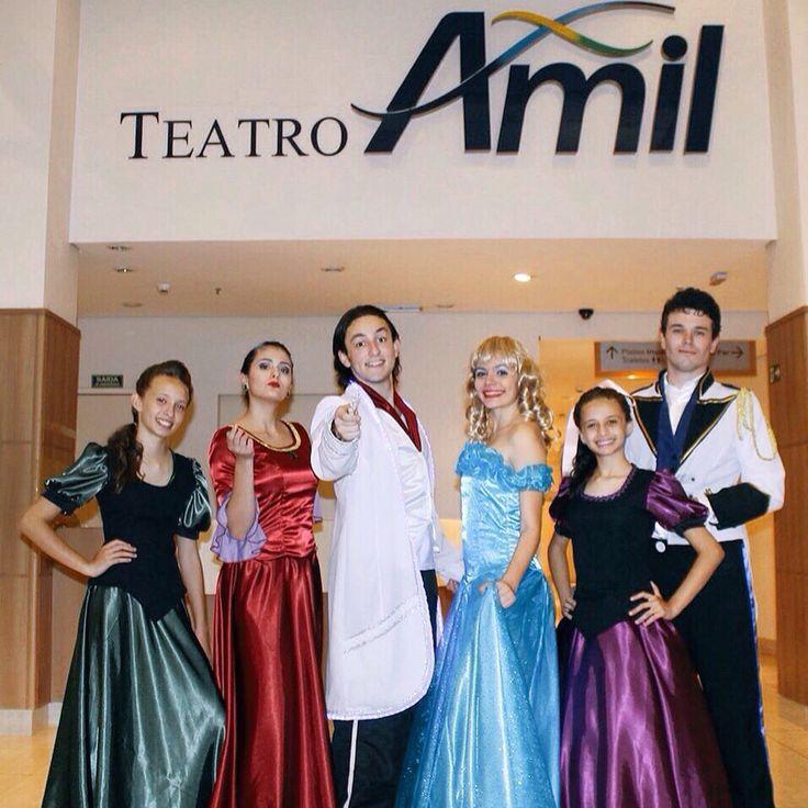 Todas as segundas-feiras do mês de julho, as 16h00. Leva a criançada pra se divertir com o melhor espetáculo infantil da temporada de férias do Teatro Amil, no Shopping D.Pedro. Corre lá ☺️