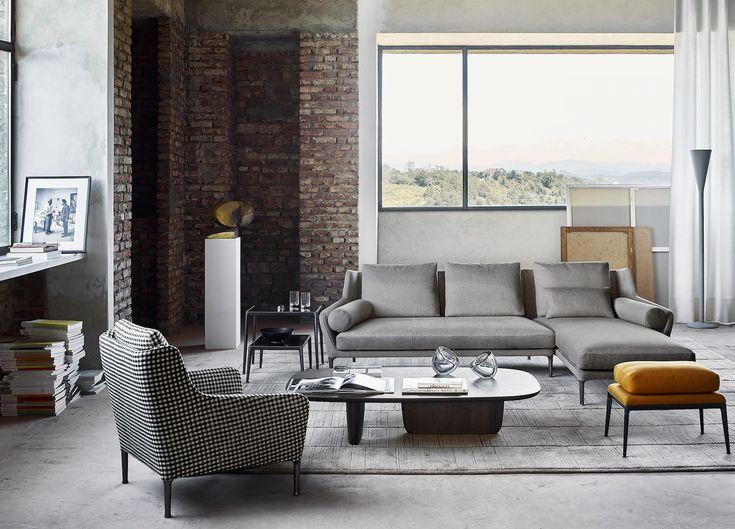 Edouard Sofa by Antonio Citterio | B&B Italia | Comfort with Class | est living
