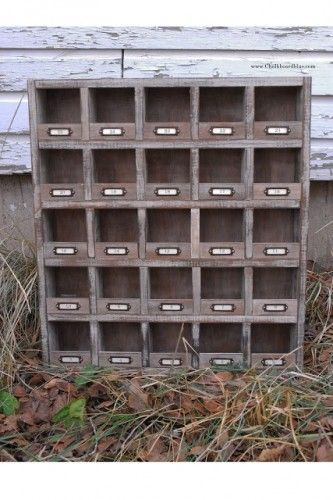 How to Build a Vintage Looking Organizer Storage Shelf DIY Project  The Homestead Survival - Homesteading