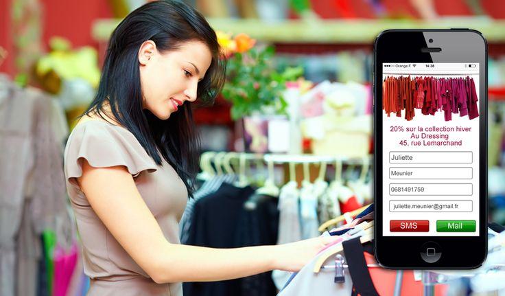 Générez du trafic en boutique et créez vos contacts qualifiés