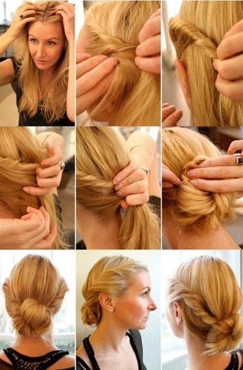 Um modelo para o seu estilo de cabelo