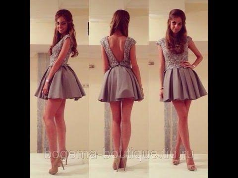 Как покроить короткое пышное платье часть 1