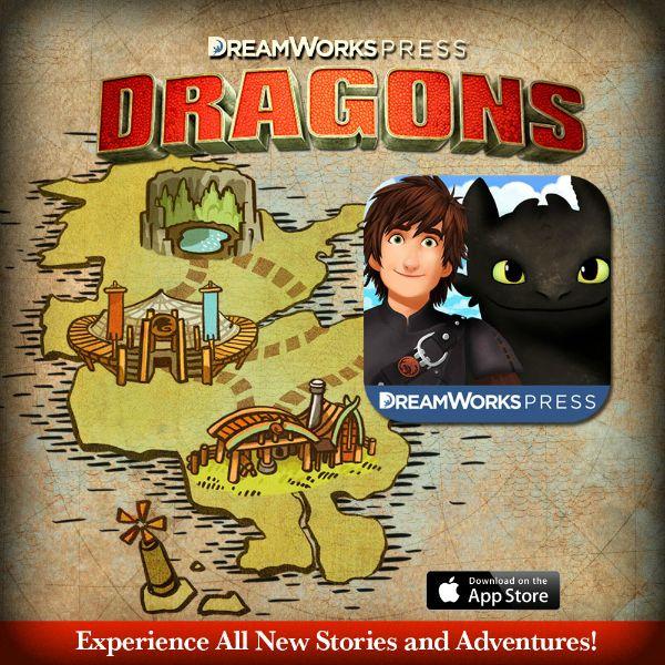 DreamWorks Press:  Dragons App for Kids