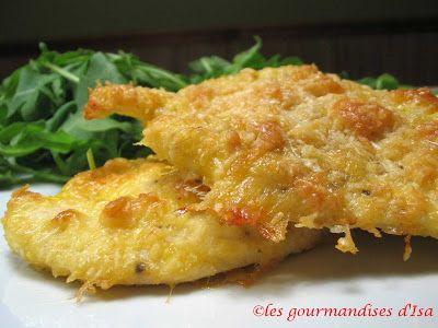 Les gourmandises d'Isa: ESCALOPES DE POULET PARMIGIANA