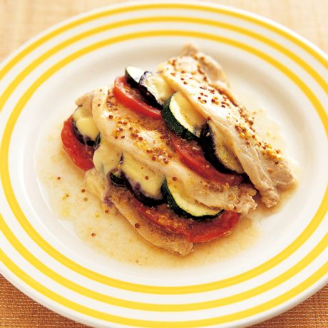 夏野菜と豚のはさみ焼き | 村田裕子さんのホイル焼きの料理レシピ | プロの簡単料理レシピはレタスクラブネット