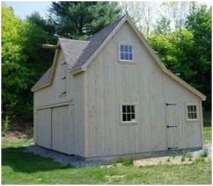 25 best backyard building ideas images on pinterest for Hobby barn plans