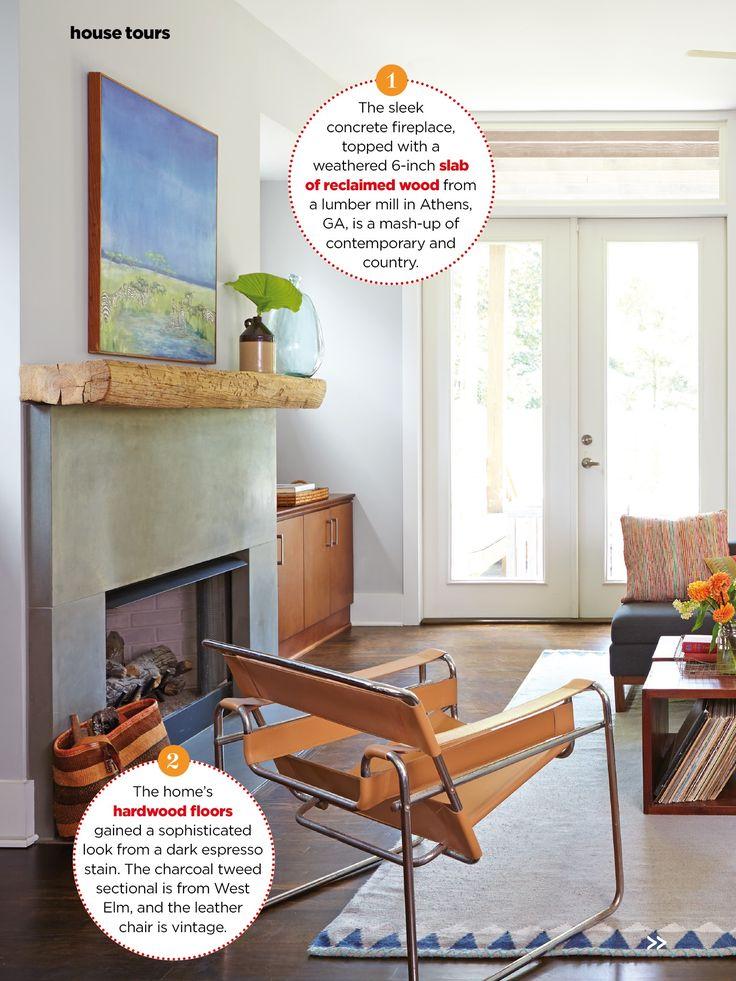 Paint zircon sherwin Williams Concrete fireplace