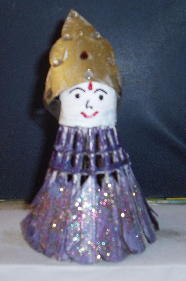 1000 images about vidhush doll making on pinterest for Waste crafts making