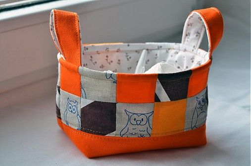 klaura / Košíček z textilu