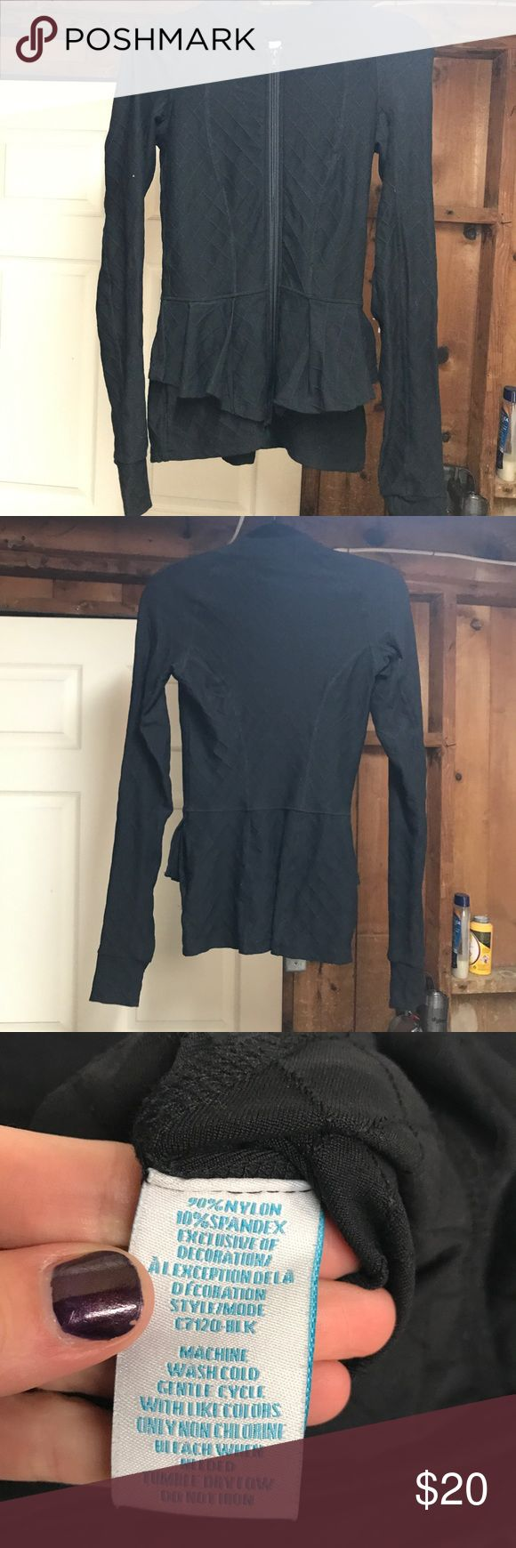NWOT Charlie jade jacket Front peplum. Slim fit. Perfect condition Jackets & Coats