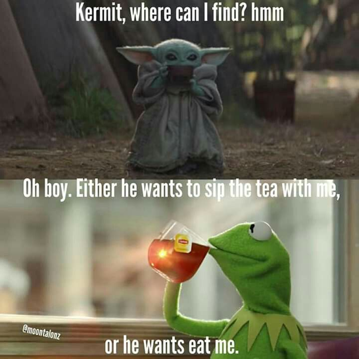 Pin By Lane On Baby Yoda Yoda Meme Funny Memes Funny Relatable Memes