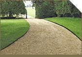 Lawn Edging: Wood. A popular choice of lawn edging normally constructed from 100 x 22mm tanalised timber attached to 50 x 25mm tanalised roofing batten, or 50 x 50mm tanalised timber. A natural looking edge easily constructed, lasting approximately 10 years. Not as flexible in achieving curves and circles as metal edging but one of the most cost effective ways of permanent edging.
