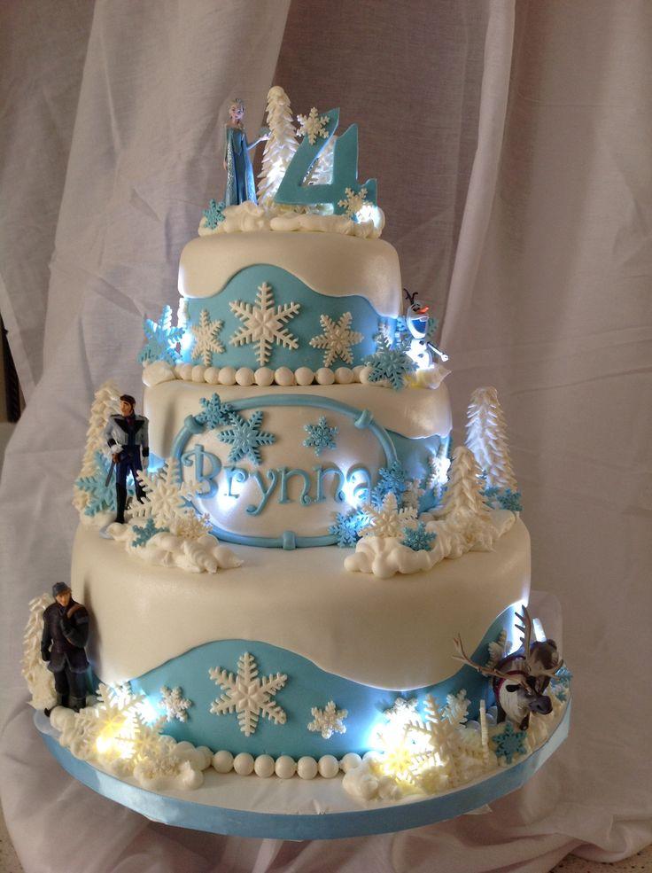 98 best cake princess Elsa frozen disney images on Pinterest