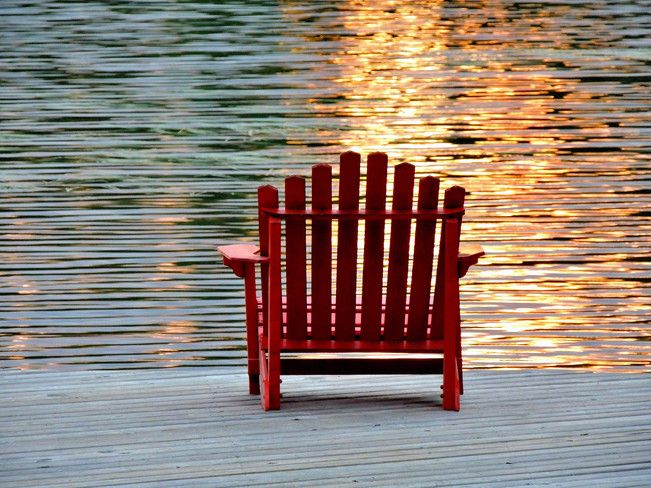 Relaxation. Photo by Judith Russell, Parry Sound, ON.