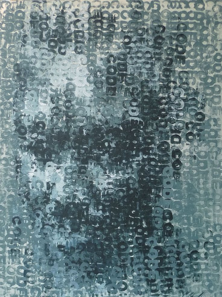 Binary Visage: Code by Claude Chandler, at StateoftheART http://bit.ly/ZcitNV