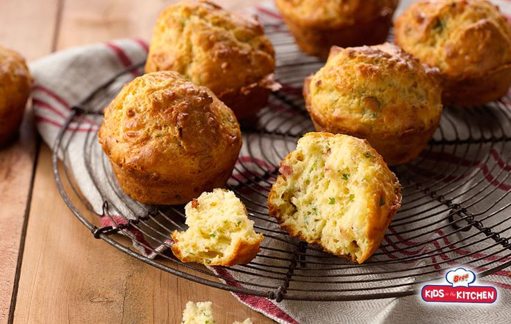 Bega Cheese | Bacon & Cheese Muffins